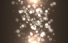 特效素材-20组唯美光斑粒子闪烁酷炫转场视频素材
