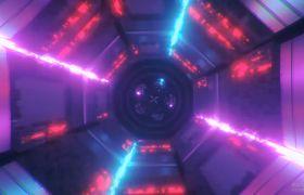 VJ素材-絢麗多彩星空科技律動感粒子通道循環舞臺背景VJ視頻素材