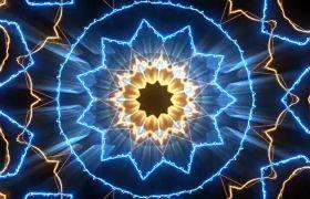 VJ素材-动感万花筒花型酷炫变幻创意酒吧夜场VJ视频素材