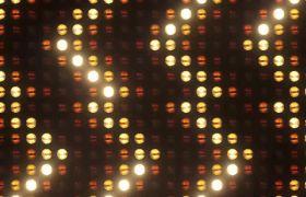 晚會素材-金色大氣走馬燈式唯美LED舞臺背景視頻素材
