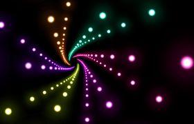 舞台背景-震撼炫酷夜店酒吧动感闪烁霓虹粒子背景素材