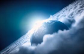 宇宙星空-宇宙穿梭震撼大气