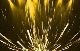 舞臺素材-華麗大氣條形光效散開飛舞形狀射燈舞臺VJ背景視頻素材
