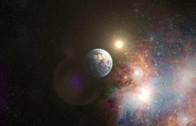宇宙素材-震撼宇宙空間地球到宇宙過程展示視頻素材