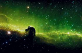 星空素材-夢幻星空粒子色彩變幻LED舞臺視頻素材