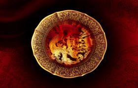 节日素材-典美文艺中国风之祥龙祈福晚会演绎开场背景视频