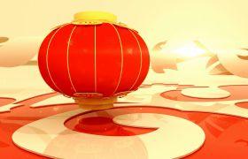 节日素材-典雅新春元旦喜庆新年开场片头视频素材
