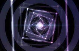 舞台素材-宇宙星光穿梭动感音乐庆典演出舞台背景