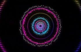 舞臺素材-光波擴散震撼大氣動感舞臺背景視頻素材