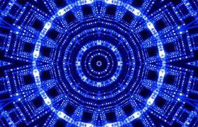 舞台素材-震撼蓝色唯美动感节奏舞台背景led视频