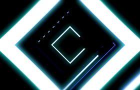 酒吧素材-震撼线条穿梭背景动态演绎酒吧VJ视频素材