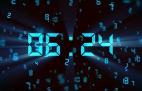 倒計時素材-核心科技感數字化10s開場倒計時背景視頻