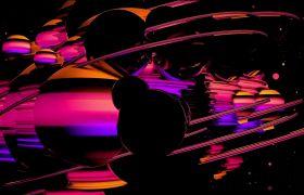年会素材-创意星球年会搞怪LED大屏晚会背景视频