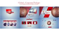 《全球网络企业包装宣传AE模板》Global Network
