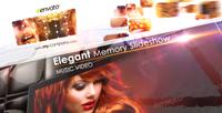 《优雅的幻灯片展示相册AE模板》Elegant Memory