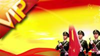 3段政治類紅背景片頭視頻 黨政類建黨黨慶 LED大屏幕背景高清動態