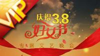 庆贺三八国际妇女节 动画包装模板专题晚会AE模板片头宣传片