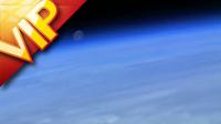 从太空中拍摄地球画面 高清实拍视频素材