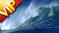 6个海浪巨涌管翻滚特写镜头2 高清实拍视频素材
