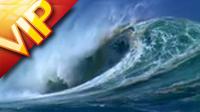 5个海浪巨涌特写镜头1 高清实拍视频素材