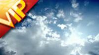蓝天白云 云层快速流动 3个高清实拍视频素材