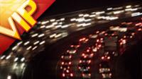 汽车快速行驶高清实拍视频素材