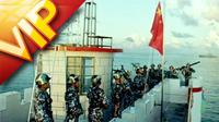 五组中国军队检阅 演习训练镜头 海陆空全方面演习