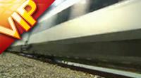 火車快速行駛高清實拍視頻素材