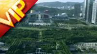 航拍深圳城市城市建筑高清实拍视频素材