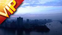 广州景色船埠运输 从黑夜到白昼疾速变革的进程高清实拍视频素材