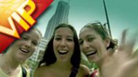 中国上海2010年上海世博会前准备镜头人物笑脸高清实拍视频素材