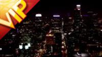 2段城市灯光亮想夜景(全景)高楼大楼航拍高清实拍素材