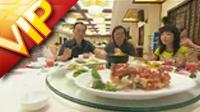 中国餐厅餐厅就餐享受美食高清实拍视频素材