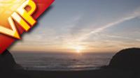 海上日楼高清实拍视频素材
