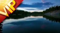湖面风光美景高清实拍视频素材