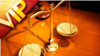 法律的天平司法秤高清动态视频素材