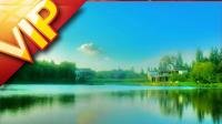 梦幻般的湖光山色 高清动态背景视频素材