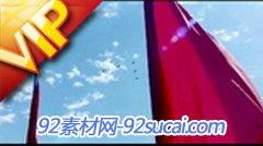 國慶大閱兵方隊 飛機演習 高清實拍視頻素材