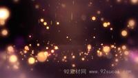 梦境粒子雨坠落 粒子瀑布舞台配景视频素材