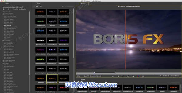 BorisFX图像合成特效处理插件套装