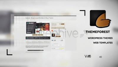 最新企业产品宣传拼图介绍AE片头模板 Dual Impact