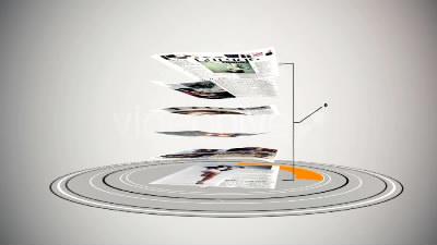 时尚杂志宣传片AE模板免费下载