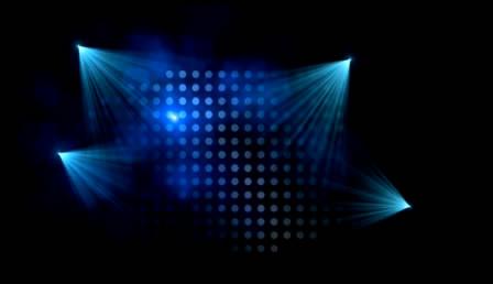 舞台聚光灯效果高清背景视频素材