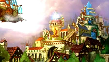 超唯美卡通风景梦幻国度背景视频素材