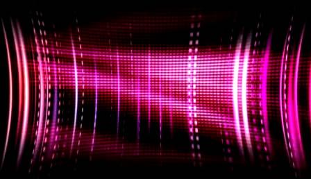 紫色极炫波纹光效结果活动配景视频素材