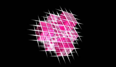 动感魔方转动发光芒条炫光活动高清视频素材收费下载