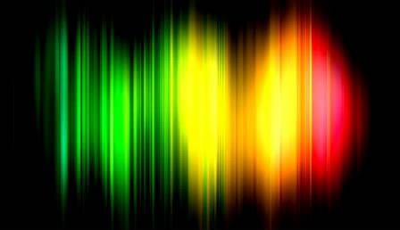 多彩线条光效背景高清视频素材