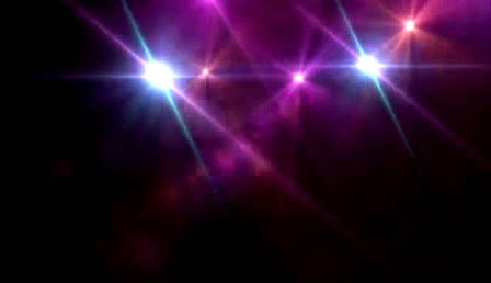 炫丽多彩光效眩光结果舞台聚光配景视频 高清静态素材