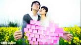 春之恋婚庆婚礼电子相册 AE婚庆模板