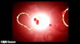 爱心婚庆片头 花朵围绕成爱心AE收场片头模板工程文件